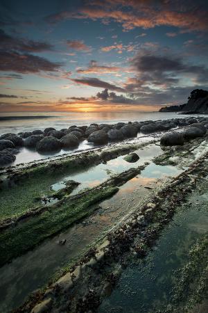 judith-zimmerman-california-sunset-on-the-emerging-rocks-at-bowling-ball-beach-schooner-gulch-state-beach