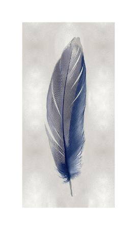 julia-bosco-blue-feather-on-silver-ii