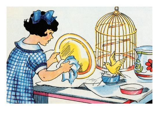 julia-letheld-hahn-cleaning-the-birdcage