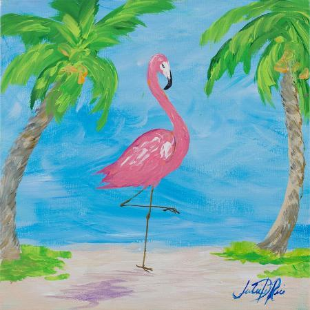 julie-derice-fancy-flamingos-i