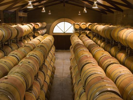 julie-eggers-oak-barrels-in-wine-cellar-at-groth-winery-in-napa-valley-california-usa