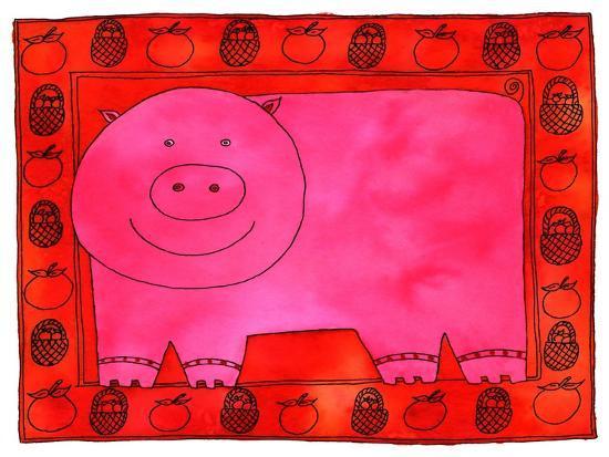 julie-nicholls-pig-and-apples-2003