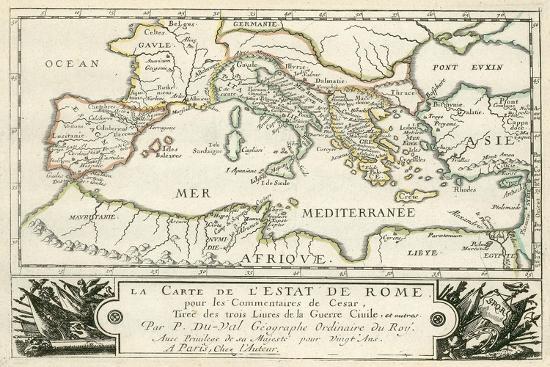 julius-caesar-carte-de-l-empire-romain-de-jules-cesar