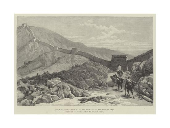 julius-mandes-price-the-great-wall-of-china-at-the-entrance-to-the-nankow-pass