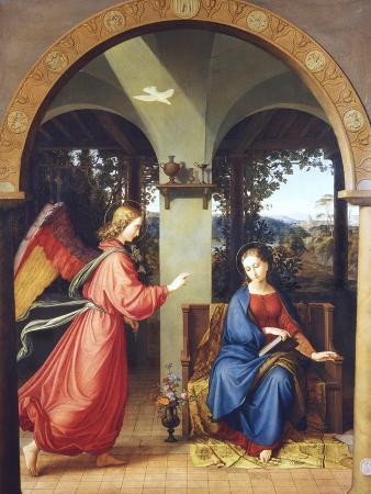 julius-schnorr-von-carolsfeld-annunciation-1818