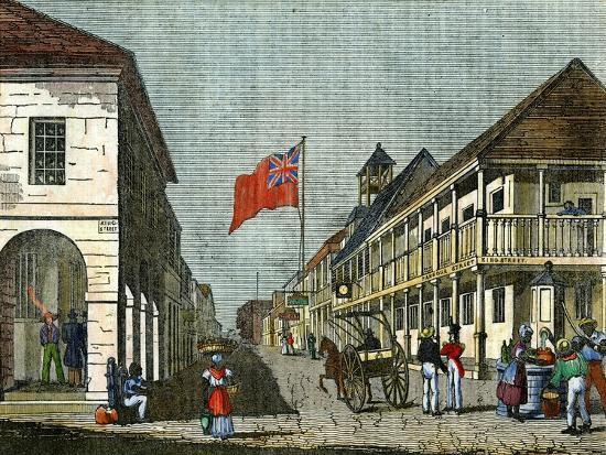 junction-of-harbour-street-and-king-street-kingston-jamaica-c1835