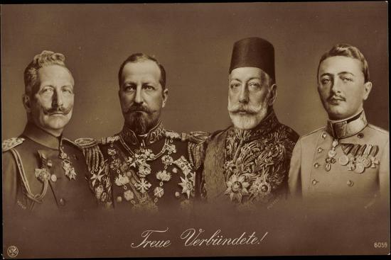 kaiser-wilhelm-ii-ghazi-mohamed-v-npg-6059