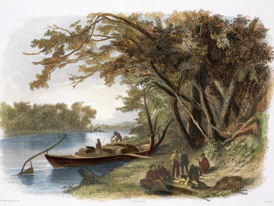 karl-bodmer-encampment-of-the-travellers-on-the-missouri