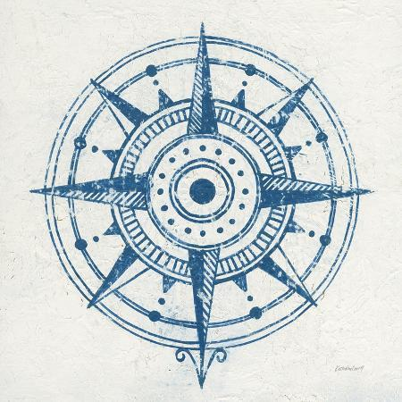 kathrine-lovell-indigo-gild-compass-rose-i