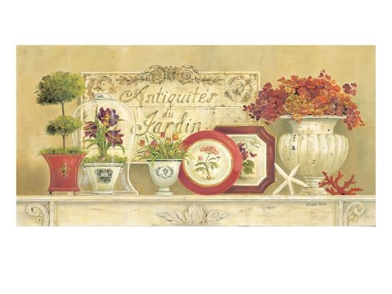 Antiquites du jardin giclee print by kathryn white at for Art du jardin zbinden sa