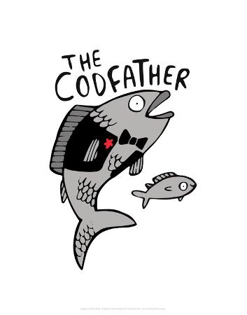 katie-abey-the-codfather-katie-abey-cartoon-print