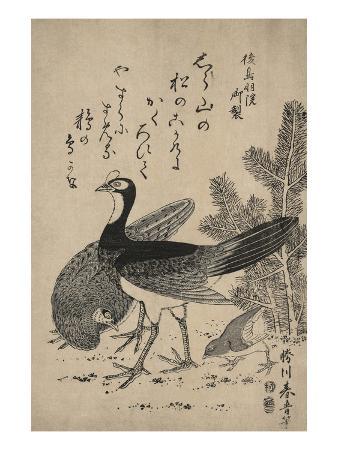 katsukawa-shunsei-wildfowl-and-pine