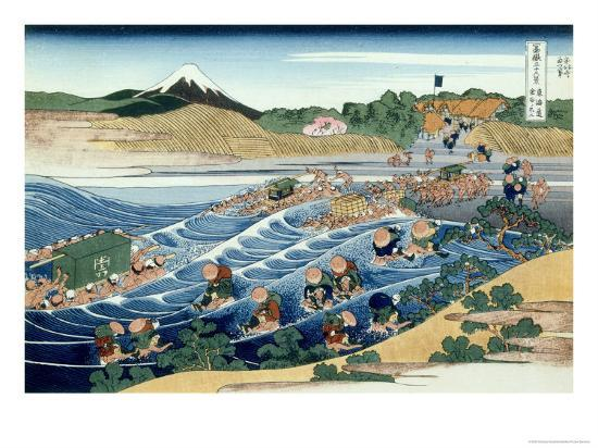 katsushika-hokusai-36-views-of-mount-fuji-no-45-from-kanaya-on-the-tokaido