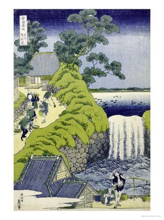 katsushika-hokusai-aoigaoka-waterfall-in-the-eastern-capital