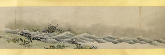 katsushika-hokusai-detail-of-handscroll-with-miscellaneous-images-edo-period-1839