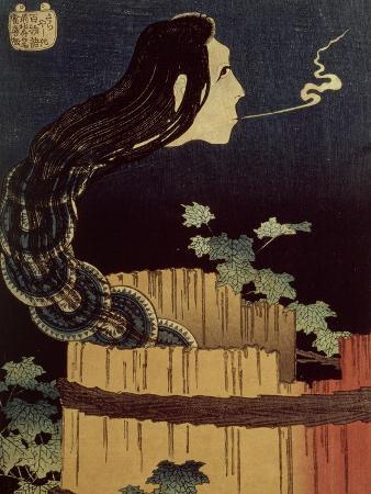 katsushika-hokusai-japanese-ghost
