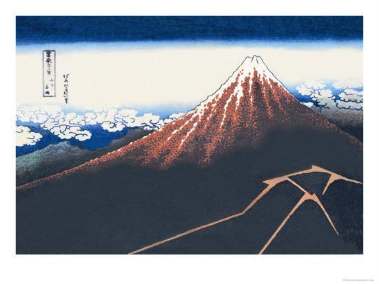 katsushika-hokusai-mount-fuji-in-summer