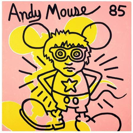 keith-haring-andy-mouse-1985