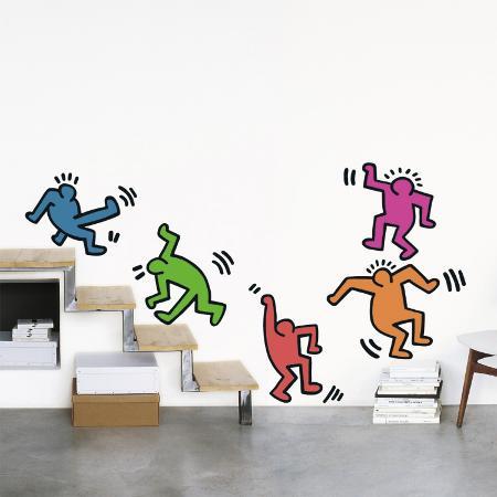 keith-haring-five-dancing-figures