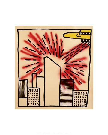 keith-haring-spaceship-with-ray-1980