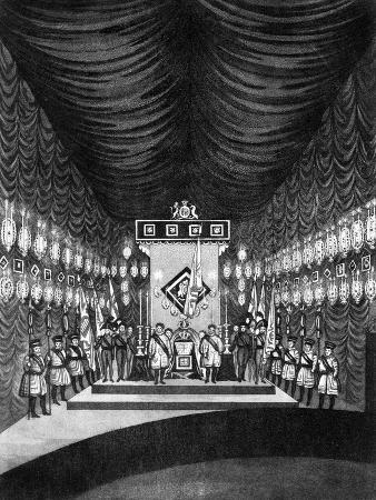 king-george-iv-lying-in-state-in-windsor-castle-1830