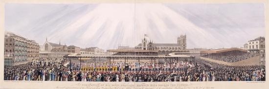 king-george-iv-s-coronation-procession-london-1821