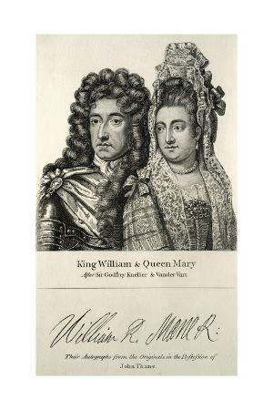 king-william-and-queen-mary-engraving
