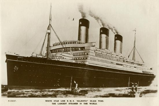 kingsway-rms-majestic-white-star-line-steamship-c1920s