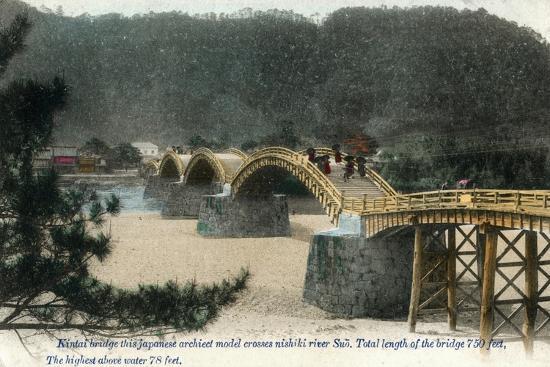 kintai-bridge-iwakuni-japan-early-20th-century