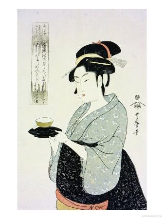 kitagawa-utamaro-a-half-length-portrait-of-naniwaya-okita-the-famous-teahouse-waitress-serving-a-cup-of-tea