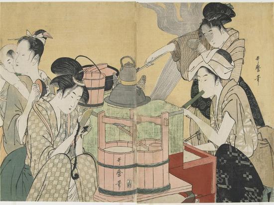 kitagawa-utamaro-kitchen-scene-1794-1795