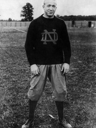 knute rockne the coach and legend of notre dame On this day in 1888, knute rockne is born in voss, norway he would go on to become one of the most successful coaches in the history of college football, coaching notre dame during their golden era in the 1920s.