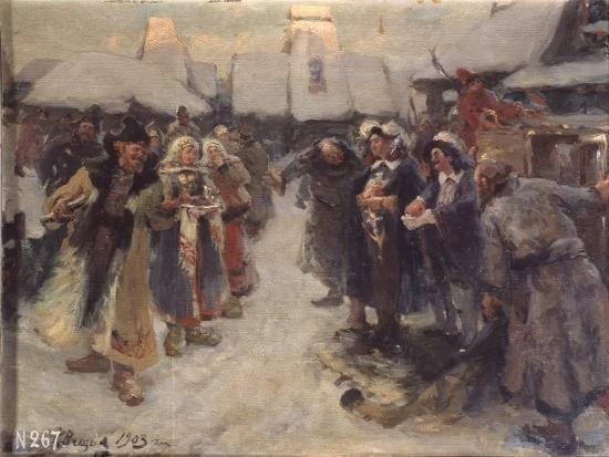 konstantin-alexandrovich-veshchilov-the-foreigners-in-muscovy-1903