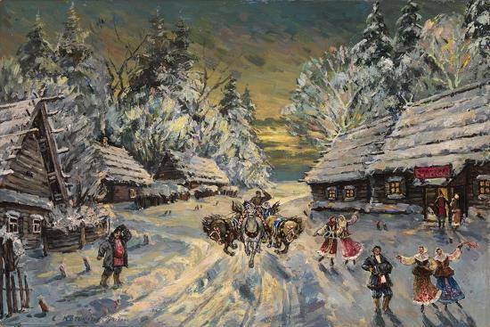 konstantin-alexeyevich-korovin-russian-winter