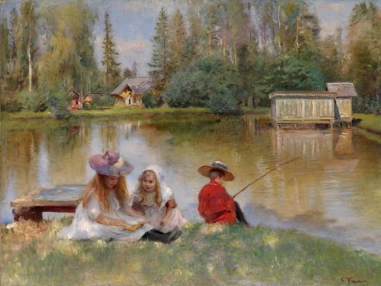konstantin-yegorovich-makovsky-children-by-the-lake