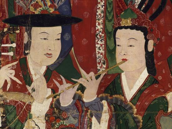 korea-suguksa-temple-painting-of-guardian-deities