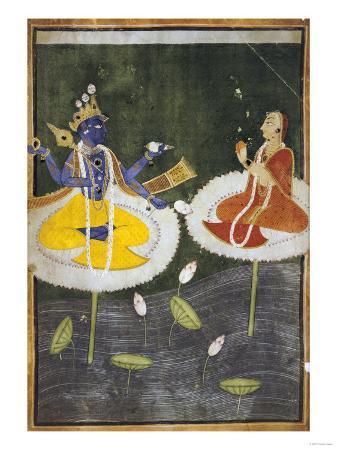 krishna-and-tadha-enthroned-mankot-or-bilaspur-circa-1700