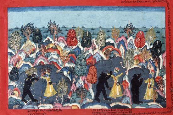krishna-fighting-jambavata-king-of-the-bears-c-1775