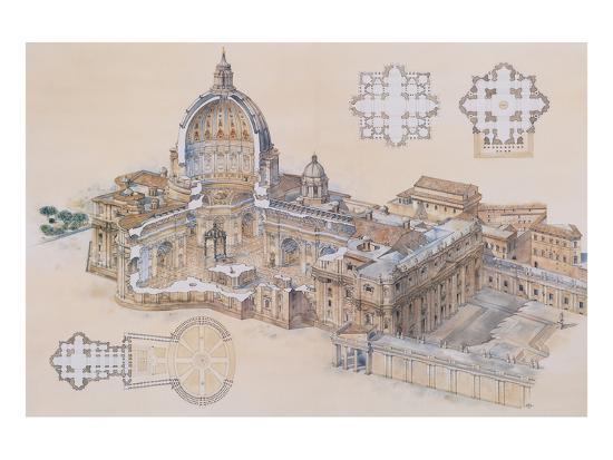 l-derrien-rome-st-peter-s-basilica