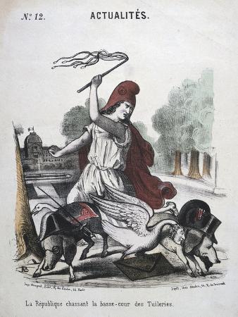 la-republique-chassant-la-basse-cour-des-tuilleries-allegorical-cartoon-1870-1871