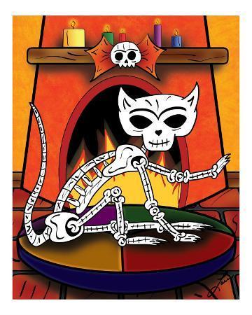 ladislao-loera-el-gato-the-day-of-the-dead-cat