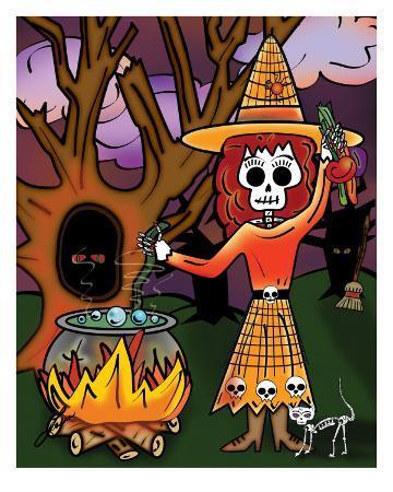 ladislao-loera-la-bruja-bella-the-beautiful-witch