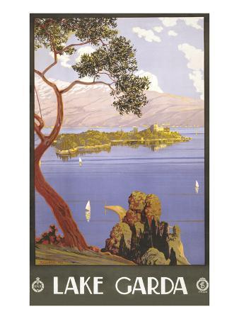 lake-garda-travel-poster