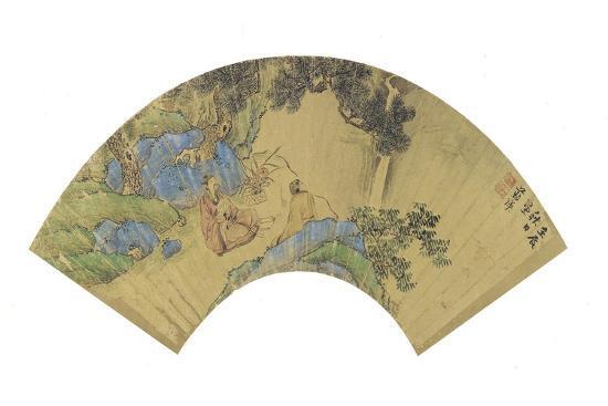 lan-ying-two-scholars-in-a-mountainous-landscape-1656