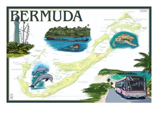 lantern-press-bermuda-nautical-chart