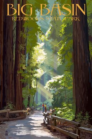 lantern-press-big-basin-redwoods-state-park-pathway-in-trees