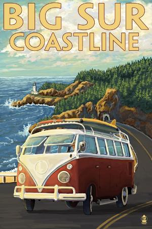 lantern-press-big-sur-california-vw-coastal-drive