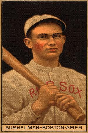 lantern-press-boston-ma-boston-red-sox-j-f-bushelman-baseball-card