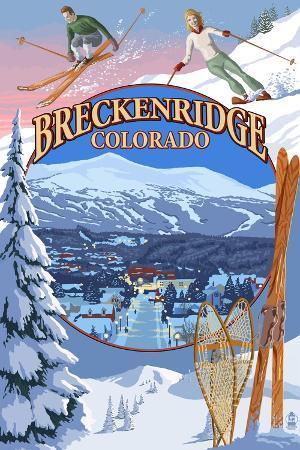 lantern-press-breckenridge-colorado-montage