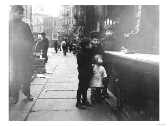 lantern-press-children-on-a-chinatown-street-nyc-photo-new-york-ny